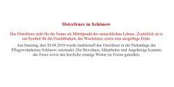 2019 PHL - Osterfeuer Beitragsbild